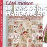 """""""La broderie Hardanger"""" de Ghislaine Hion aux éditions de Saxe"""