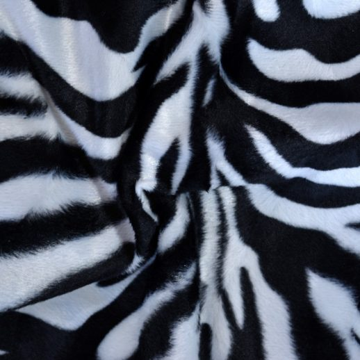 tissu imitation zèbre