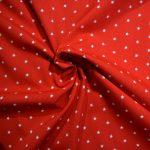 coton imprimé étoiles
