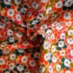 polycoton floral esprit vintage
