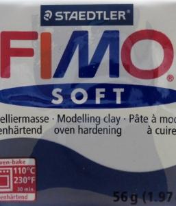 Fimo Soft Bleu Windsor N°35