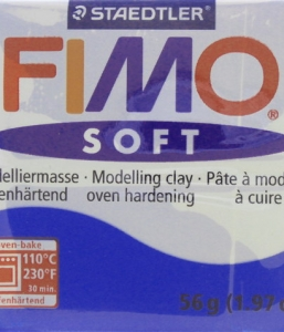 Fimo Soft Bleu Pacifique N°37