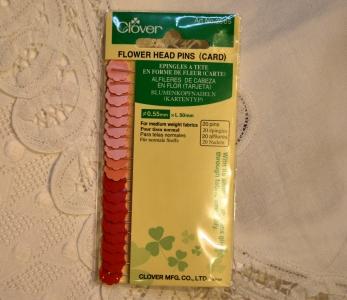Epingles à tête fleur Clover